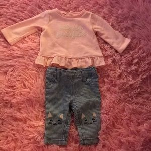 Carter's Matching Sets - Carter's two piece set